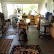 Sustainability in the studio